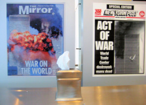 Sept. 11 Exhibit at Washington, D.C.'s Newseum