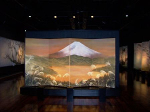 Mt. Fuji at the Sakura Museum, Oct. 2004