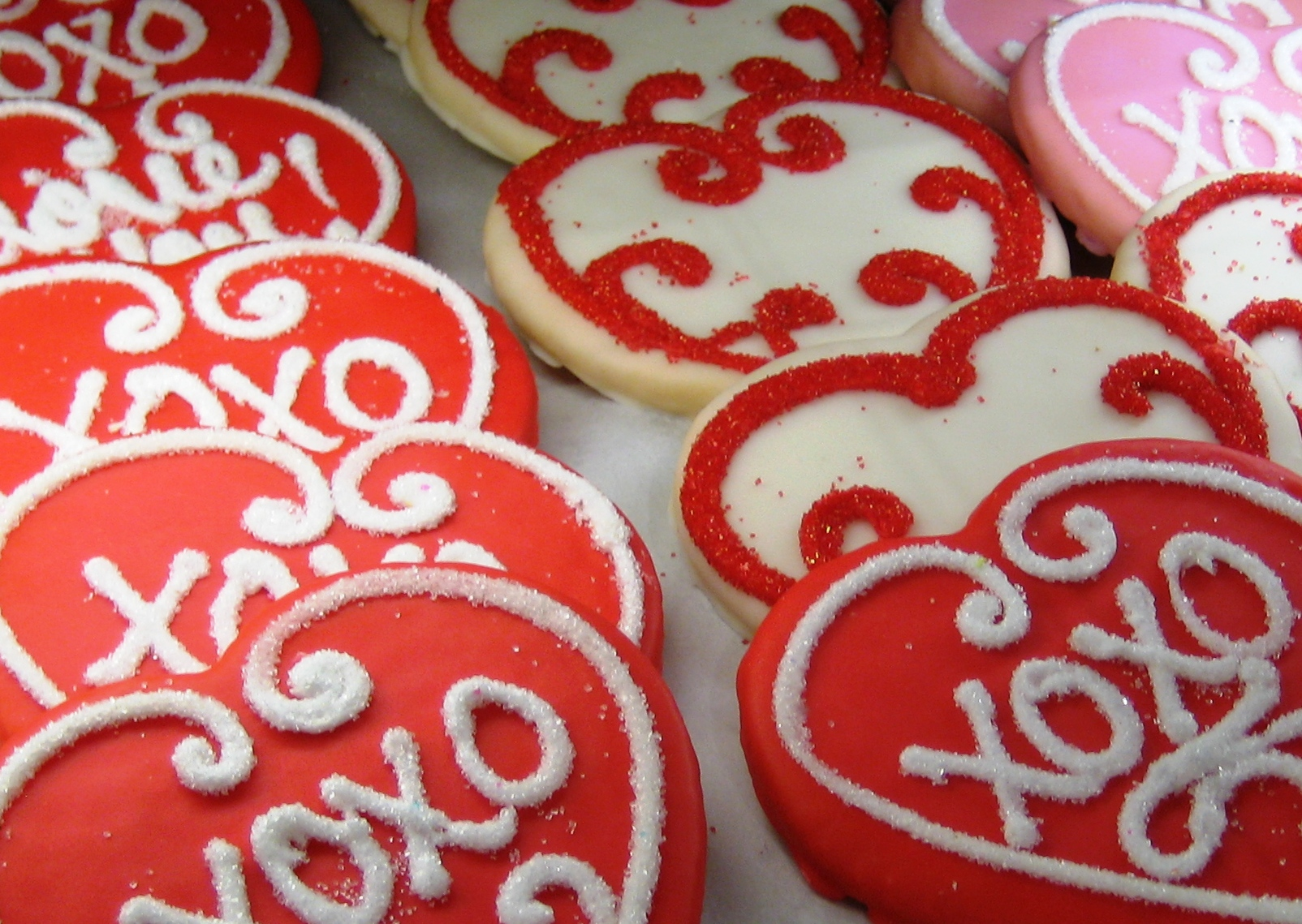 Valentine's Day Cookies, Edgars Bakery, Birmingham, Ala., Feb. 2010