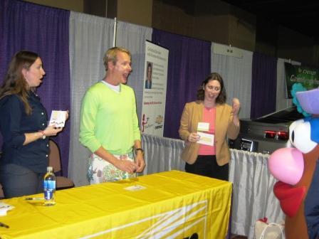 Carson Kressley, Melissa Braverman, Mrs. Potato Head, BlogHer '09, Chicago