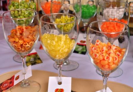 Jelly Bellys at SoBe Wine & Food Fest 2010