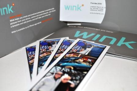 Travel with Shutterfly's Wink Photostrips App