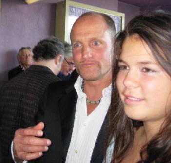 Wood Harrelson and Daughter Deni at 2009 Sarasota Film Festival