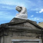 Angel Headstone in New Orleans Cemetery