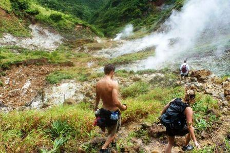Trail to Boiling Lake, Dominica