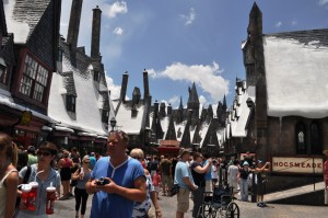 The Wizarding World of Harry Potter, Hogsmeade