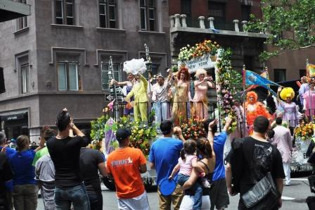 NYC Gay Pride March 2010
