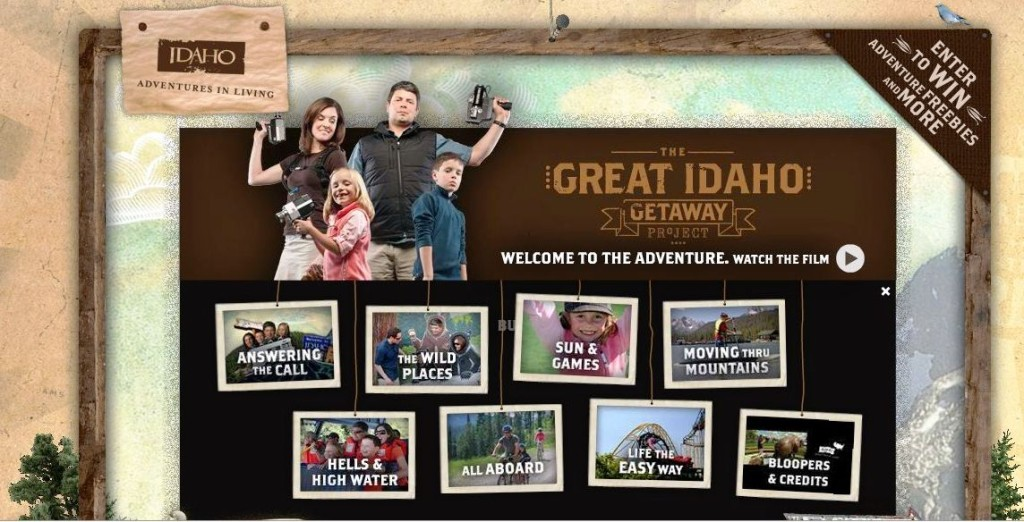 The Great Idaho Getaway Project