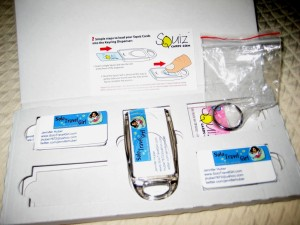 Squiz Cards & Key Chain Arrived in a Sturdy Box