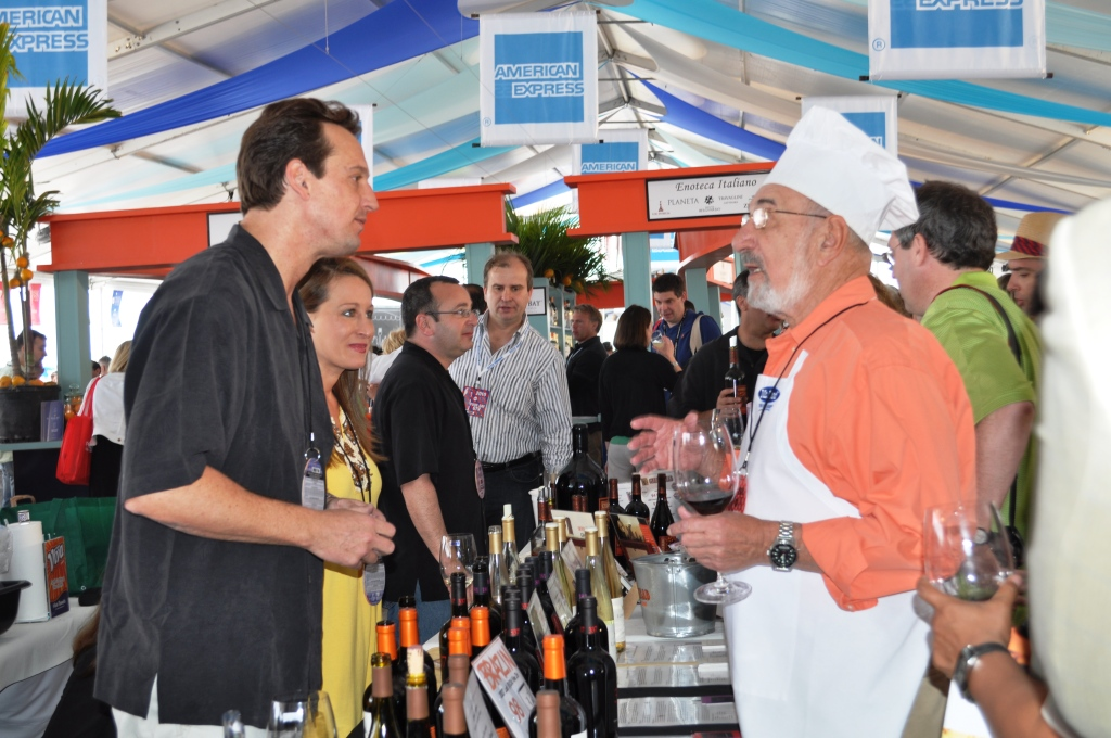 Mr. Food (R) at the 2010 South Beach Wine & Food Festival