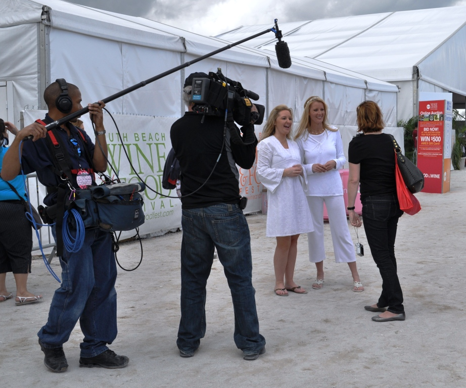 Sandra Lee at the 2010 SoBe Wine & Food Fest