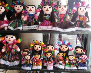 Mexican Dolls Near Lake Chapala