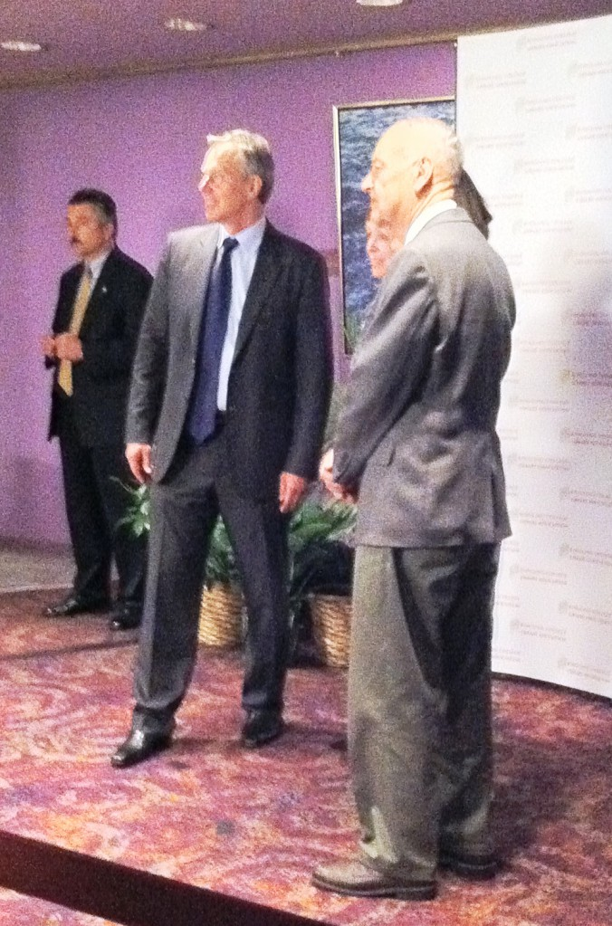 Tony Blair at the Ringling College Town Hall Lecture Series, Feb. 23, 2011