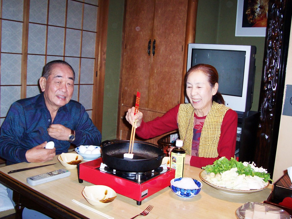 Hya and Yoko Preparing Dinner at Home