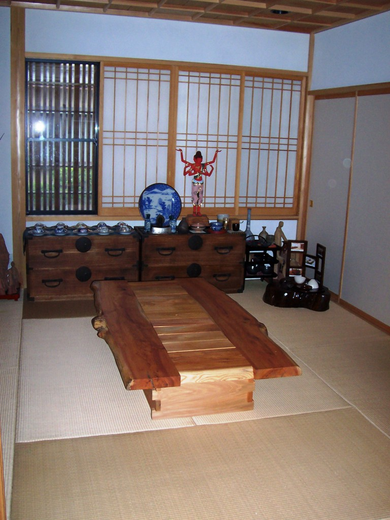 Tatami Room in a Japanese Home