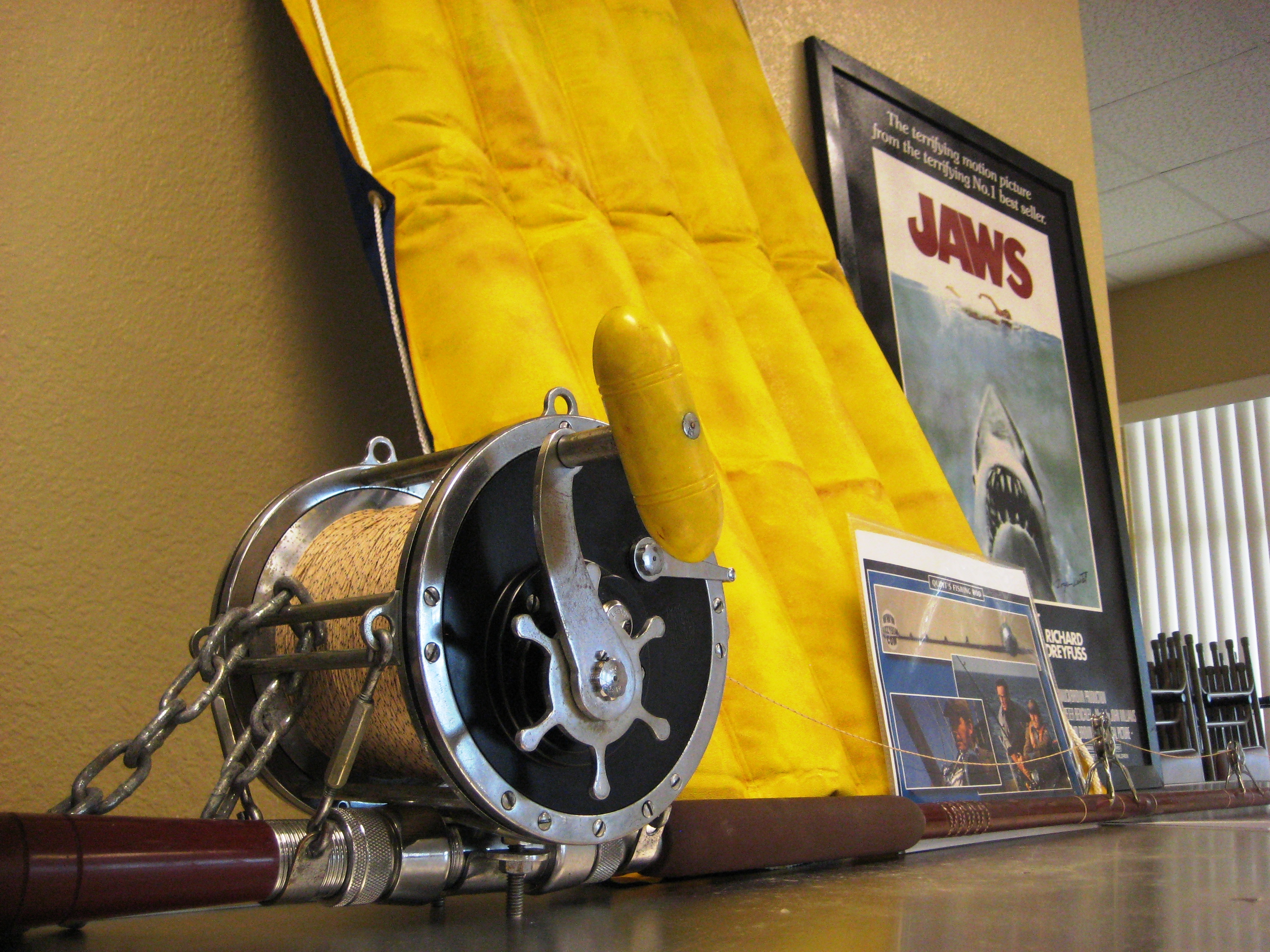 Quint's Fishing Rod from the Movie Jaws
