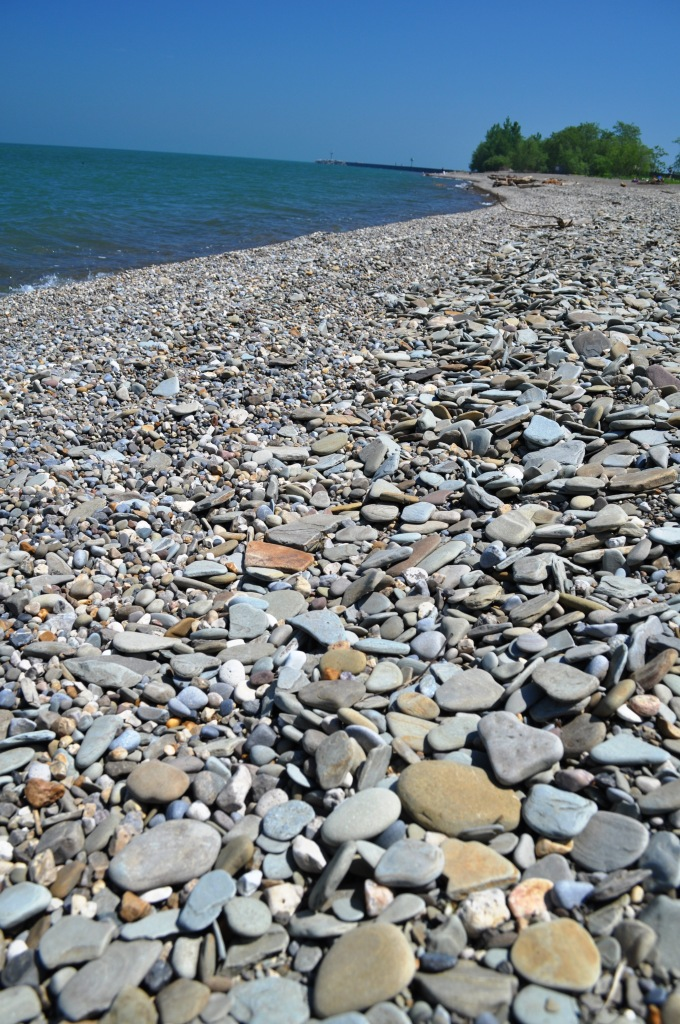 So this is What a Lake Erie Beach in New York State Looks Like
