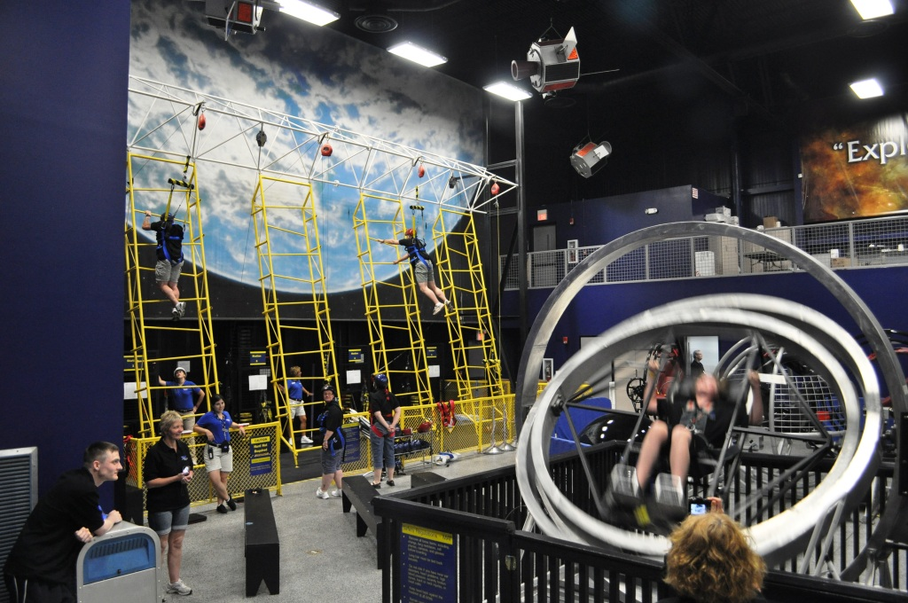 Getting Physical During Astronaut Training Experience