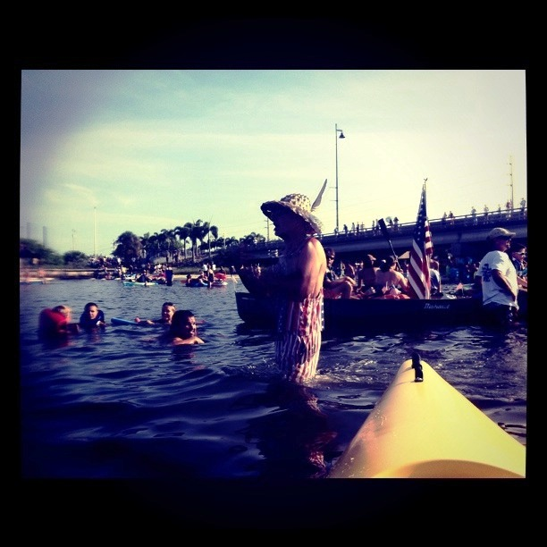 Wordless Wednesday: 20th Annual Charlotte Harbor Freedom Swim in Punta Gorda, Florida
