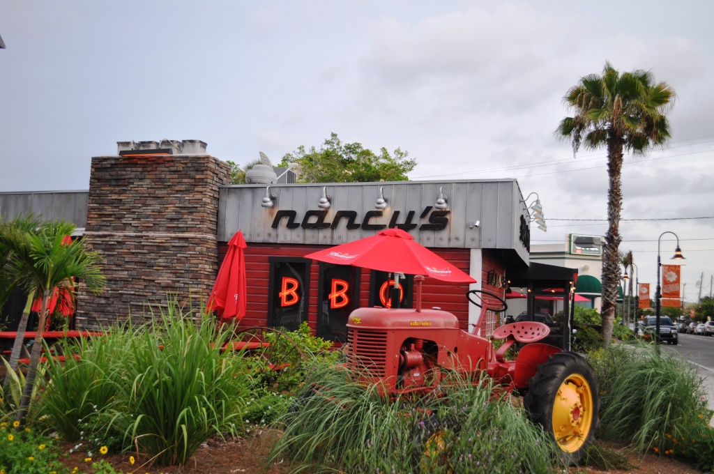 Good Eating at Nancy's Bar-B-Q in Sarasota, Florida