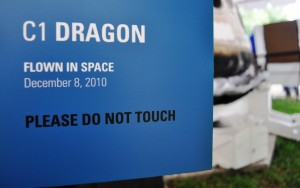 Wordless Wednesday: Up Close with SpaceX Dragon Capsule