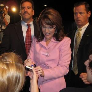 Alaska Governor Sarah Palin Campaigning in Tampa, Oct. 2008