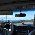 View from the Backseat While Heading South on AK-3