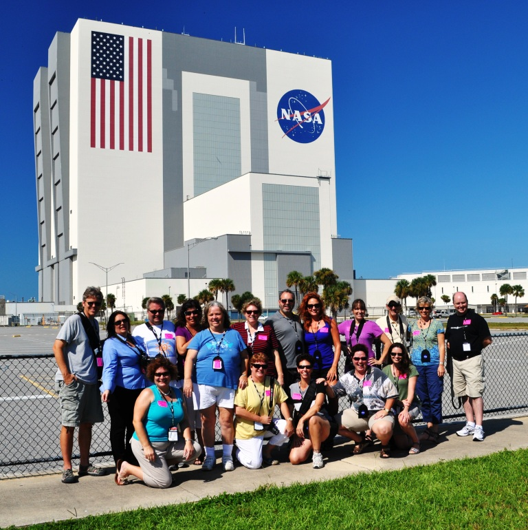 Central Florida TBEX Group at the Kennedy Space Center Vehicle Assembly Building