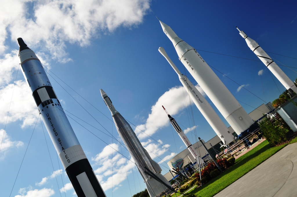 The Rocket Garden - Probably My Favorite Attraction at Kennedy Space Center