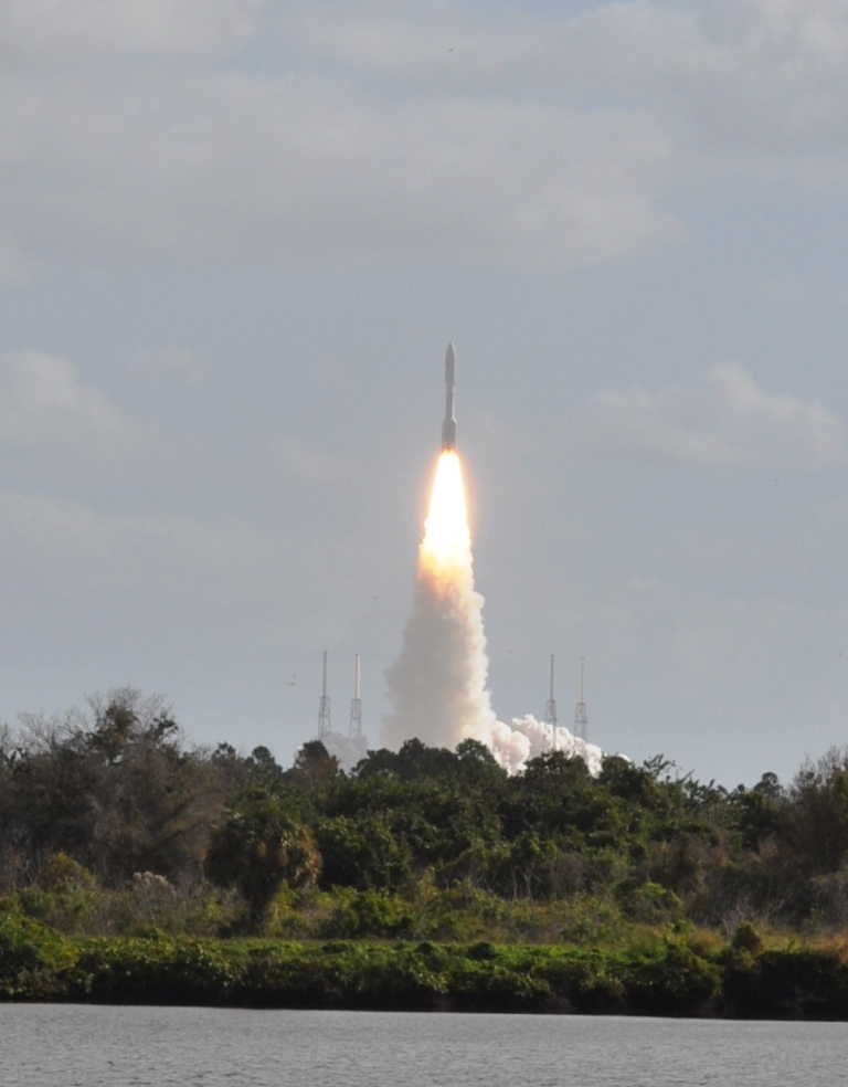 This is Why Science is Cool: Lift Off of United Launch Alliance Atlas V Rocket Carrying NASA's Mars Science Laboratory Curiosity Rover, Kennedy Space Center, Fla., Nov. 26, 2011