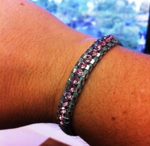 Chan Luu Breast Cancer Awareness Bracelet for BreastCancer.org
