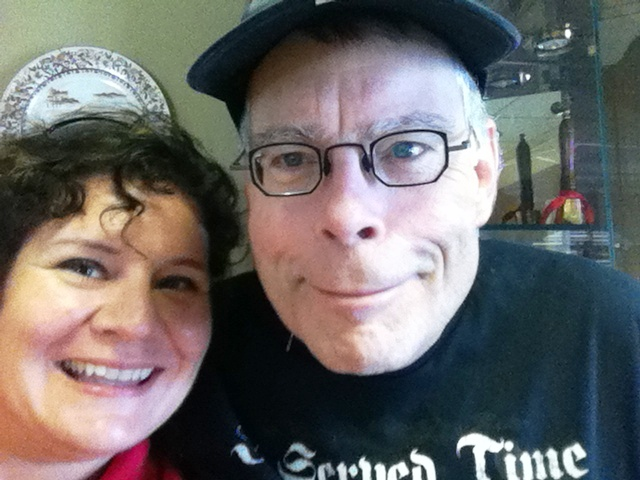 I'm Thankful for Chance Encounters (with Stephen King at the Car Dealership! Sarasota, Fla., March 2011)