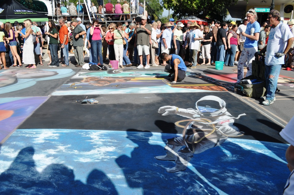 Day 6 at the Chalk Festival in Sarasota, Fla., Nov. 6, 2011