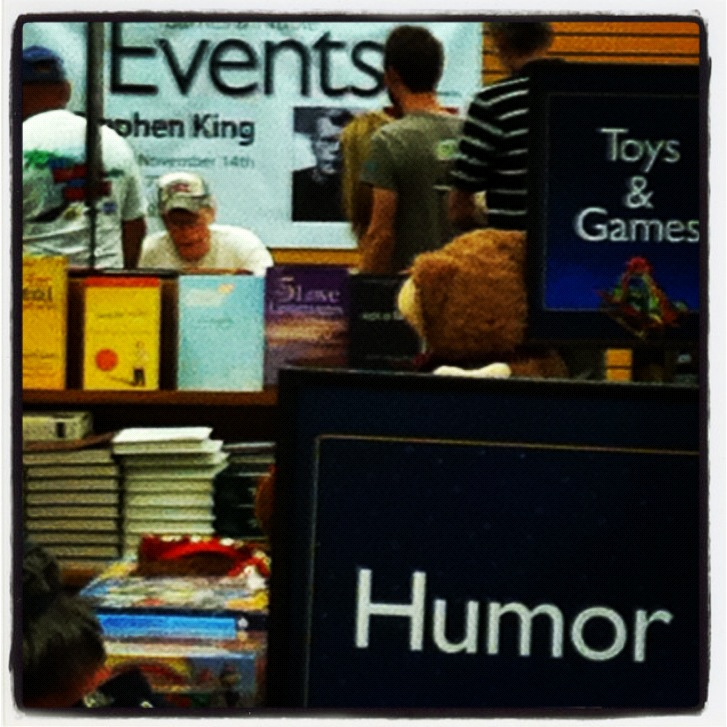 Catching (Another) Glimpse of Stephen King in Sarasota, Florida