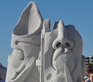 Wordless Wednesday: Sandsculptures from 2011 Siesta Key Crystal Classic