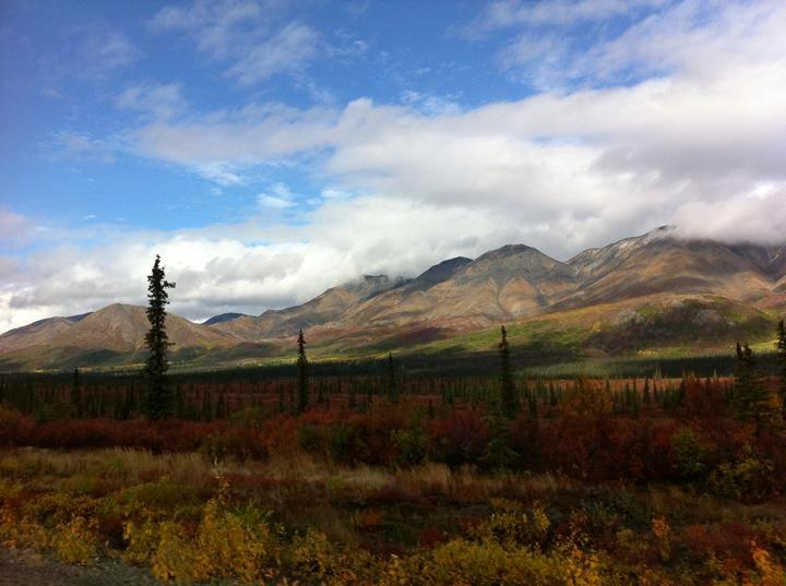 I'm Thankful for the Ability to Travel to Amazing Places, Alaska, Sept. 2011