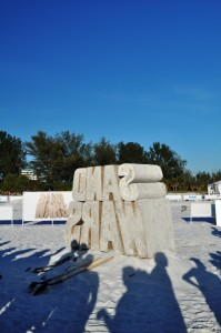 Sunshine, White Sand and Exploding Sand Sculptures: Travel Channel Filming New TV Show on Sarasota's Siesta Key