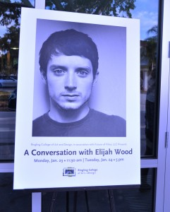 Wordless Wednesday: Elijah Wood Travels from Middle-Earth to Sarasota