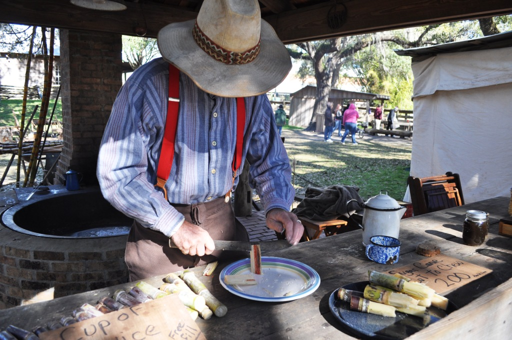 Grab Some Sugar Cane in the Florida Cracker Village