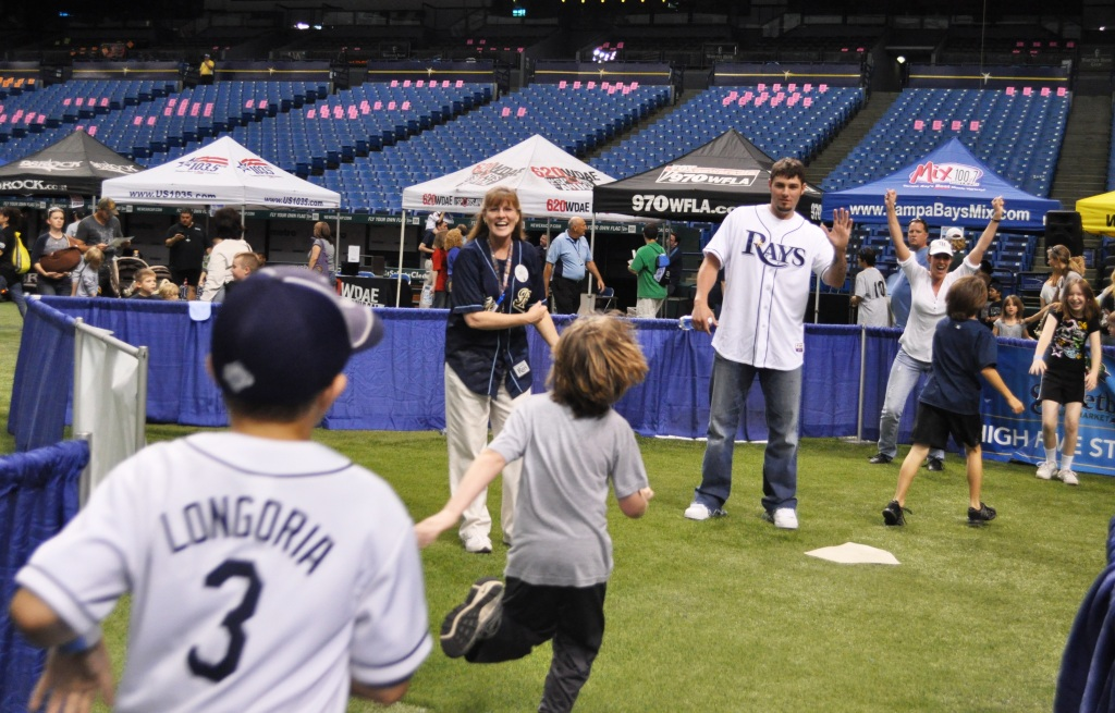 My First Rays Fan Fest at Tropicana Field