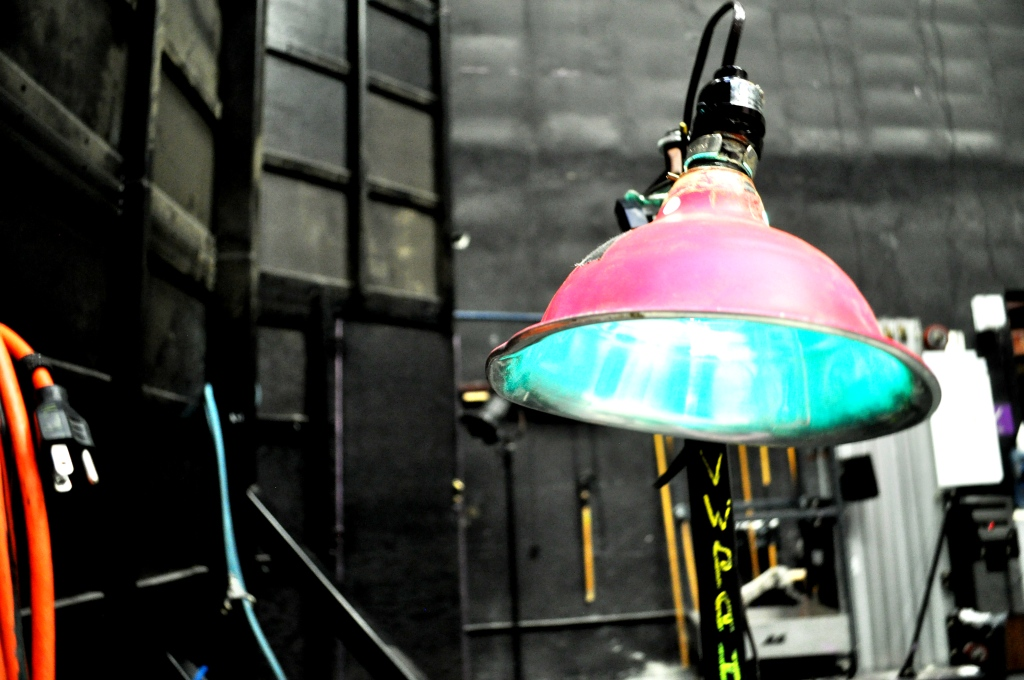 Backstage Lamp - I Love the Pink