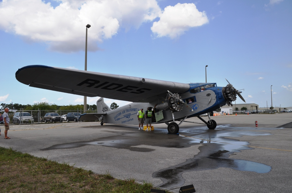 This 1929 Ford Tri-Motor Was First Used by Eastern Air Transport (Eastern Airlines)