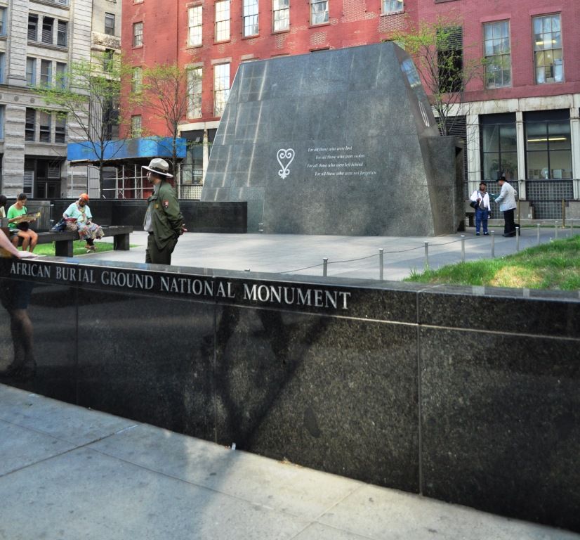 African Burial Ground National Monument, New York City, NY, April 2012