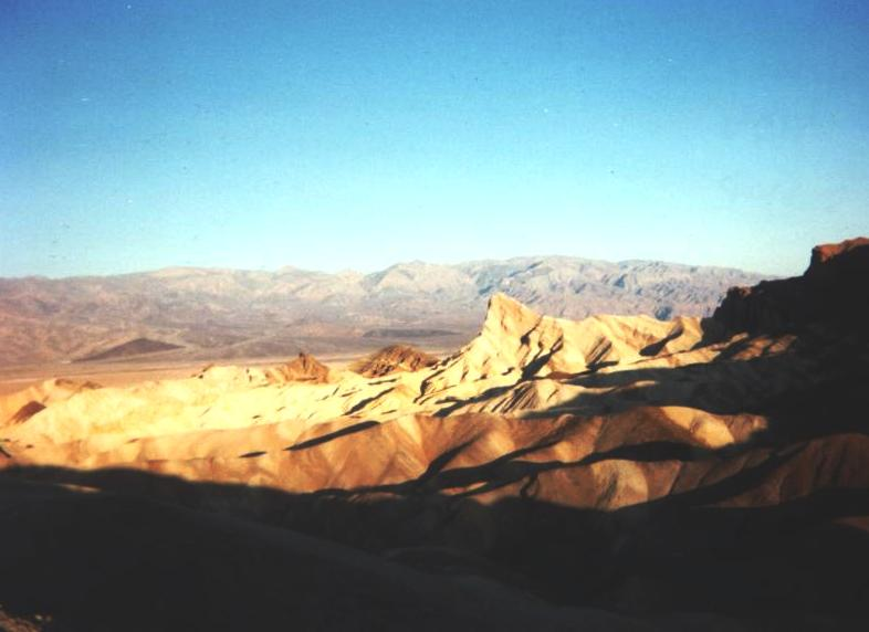Metled Candles in Death Valley Part 1: Dry Heat in the Summer
