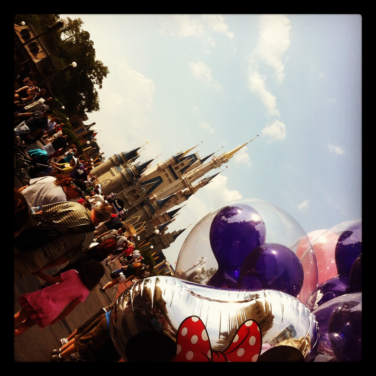 Happiest Place on Earth - Magic Kingdom, Walt Disney World, Fla.