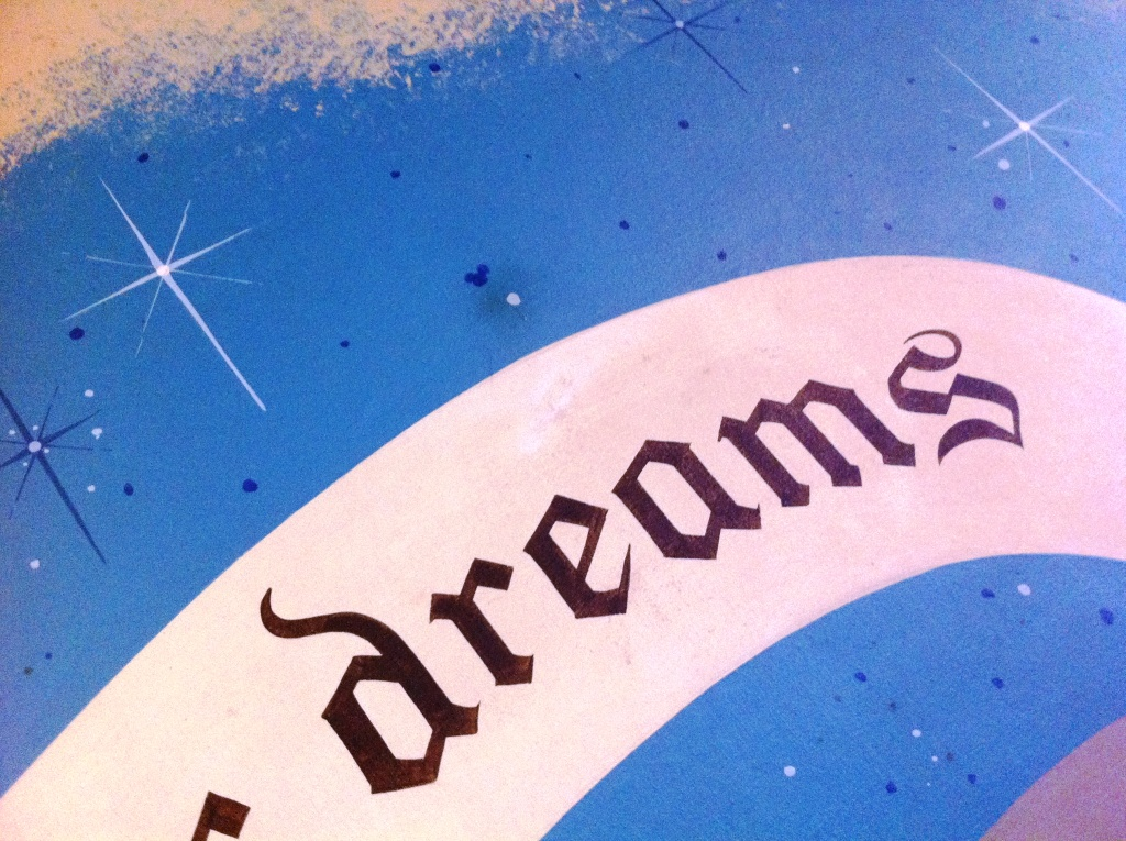 "See the Hidden Mickey Above the World ""Dreams""?"