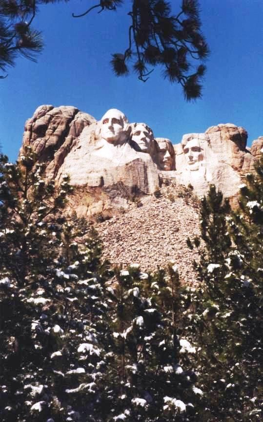 Mount Rushmore, S.D., April 1994