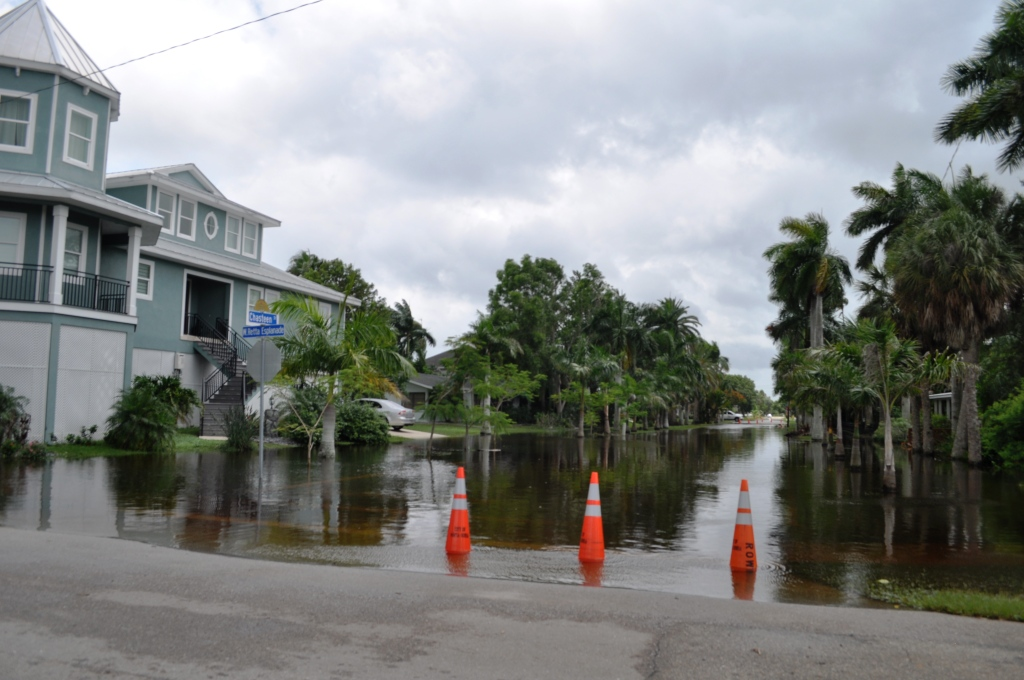 Chasteen is One of the Punta Gorda Roads Closed