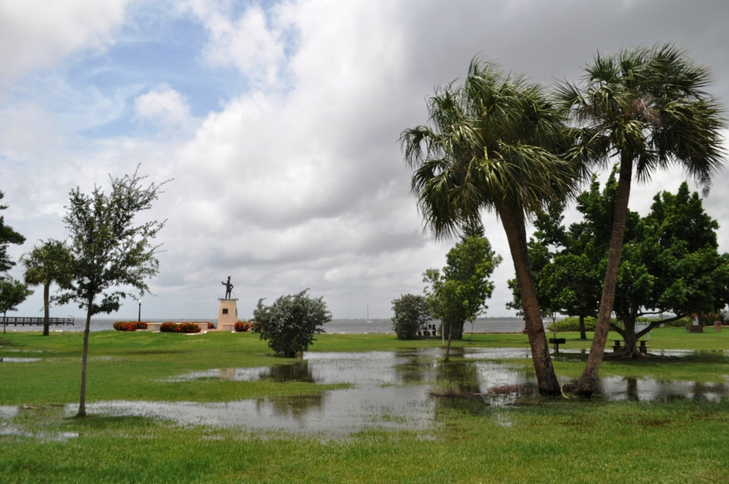 Tropical Storm Debby Visited Gilchrist Park in Punta Gorda, Fla.