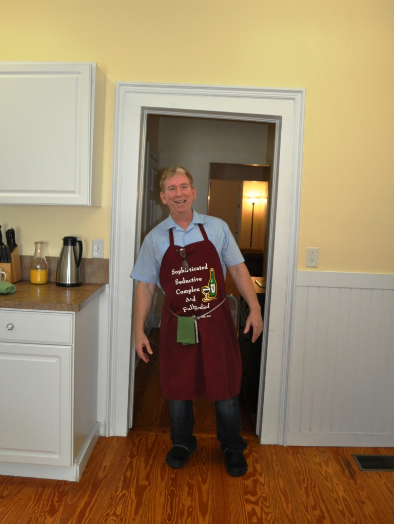 Innkeeper Jim Tuttle Shows Off the Character of Veranda Cottage, Built 1912, Mount Dora, Fla. 